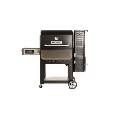 Masterbuilt  30 in. Gravity Series 1050 Digital  Charcoal  Grill and Smoker  Black
