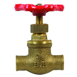 BK Products  3/8 in. Dia. Brass  Globe Valve