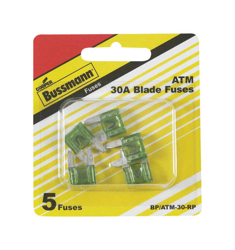 Bussmann  30 amps ATM  Mini Automotive Fuse  5 pk