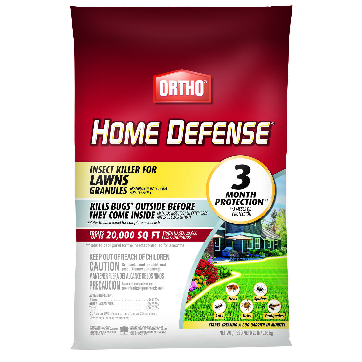 Ortho Home Defense Granules Insect Killer 20 lb.