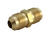 JMF  5/8 in. Flare   x 3/8 in. Dia. Flare  Brass  Union