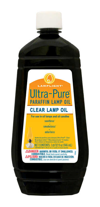 Lamplight Farms  Ultra Pure  Clean Burn  Lamp Oil  Clear  32 oz.