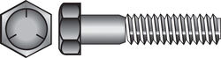 Hillman 1/2 in. Dia. x 7 in. L Heat Treated Zinc Steel Hex Head Cap Screw 25 pk