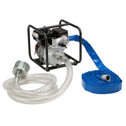 Red Lion  5 hp Aluminum  Water Transfer Pump Kit