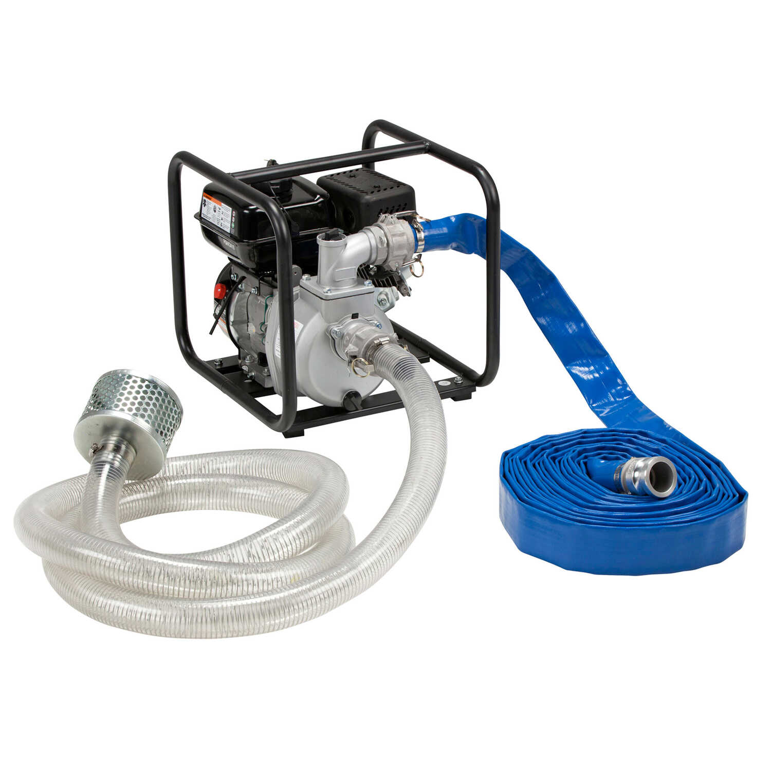 Red Lion  Aluminum  Water Transfer Pump Kit  5 hp