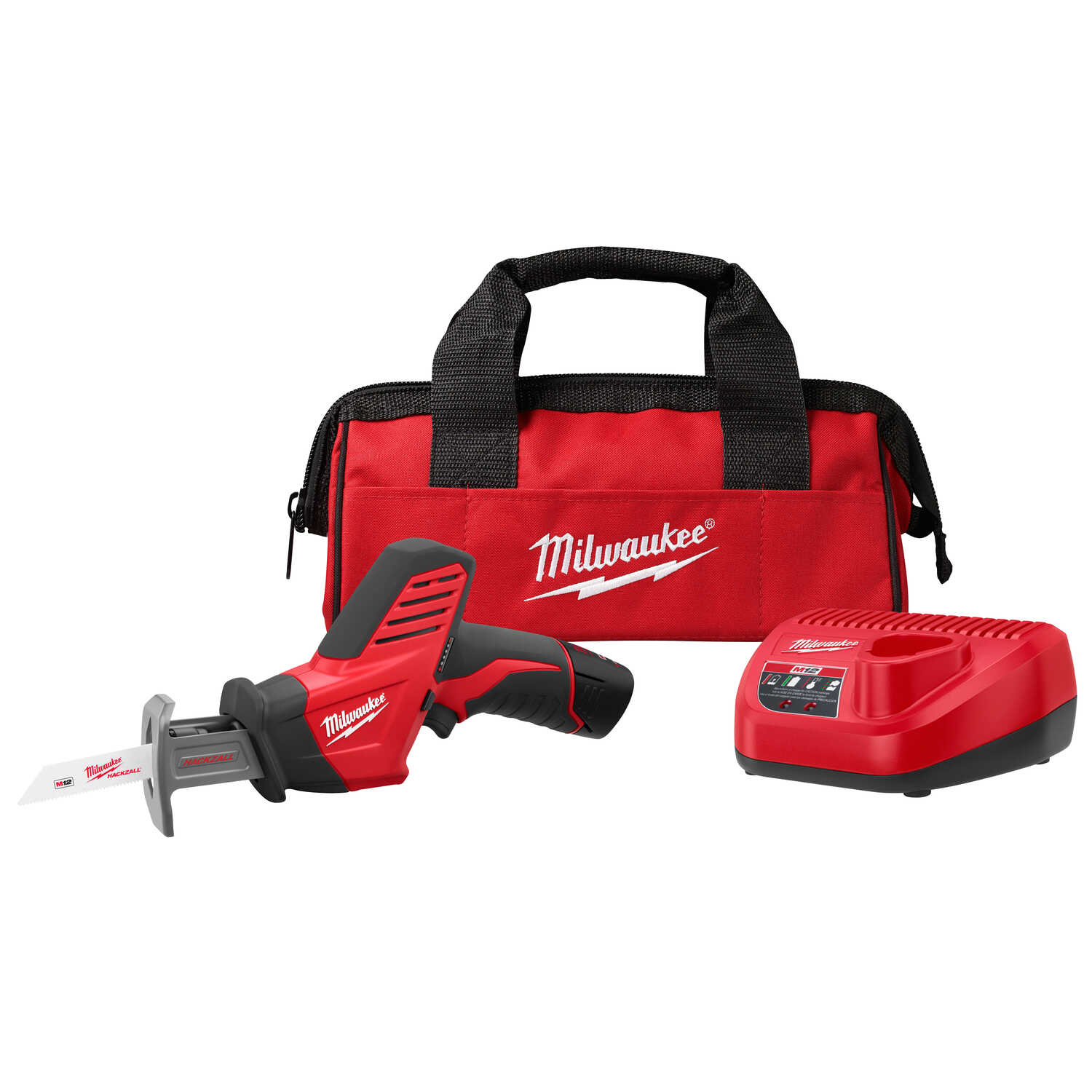 Milwaukee  M12 HACKZALL  1/2 in. Cordless  Reciprocating Saw  Kit 12 volt 3000 spm