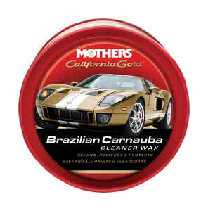 Mothers  California Gold  Paste  Automobile Wax  For All Paint Surfaces 12 oz.