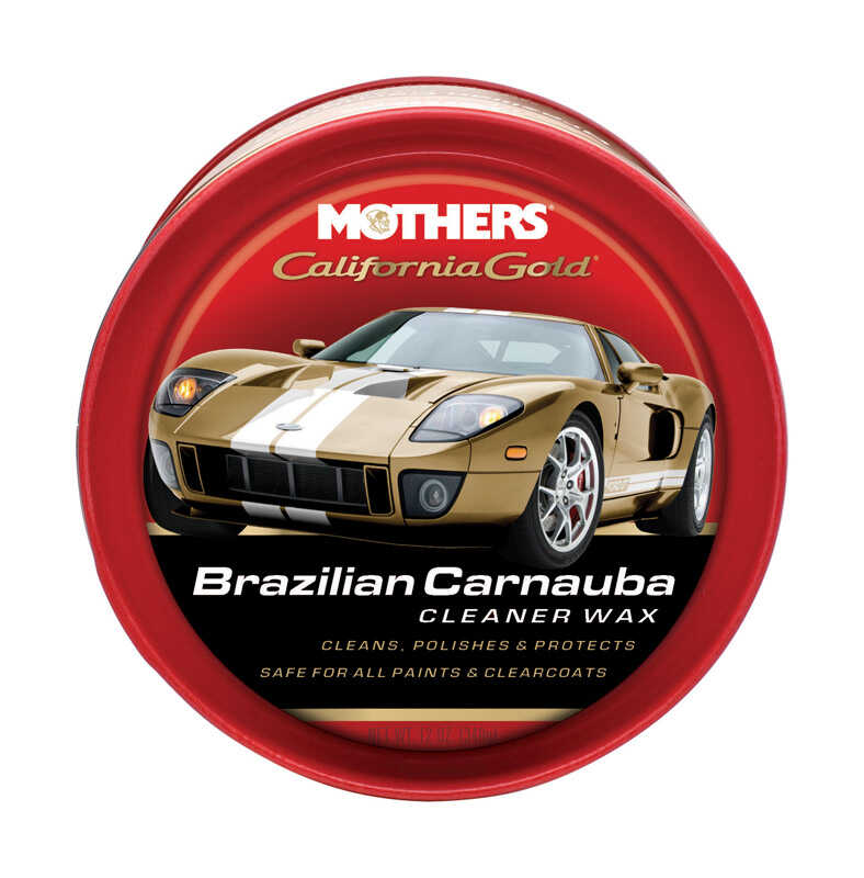 Mothers  California Gold  Paste  Automobile Wax  12 oz. For All Paint Surfaces