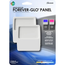 Westek Forever-Glo Automatic Plug-in LED Panel Night Light