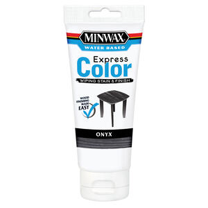 Minwax Express Color Semi-Transparent Onyx Water-Based Acrylic