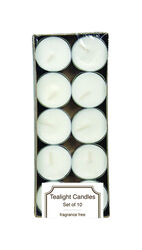 Langley Empire  White  No Scent Jar  Candle  0.5 in. H x 1.5 in. Dia.