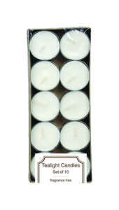 Langley Empire  No Scent White  Jar  Candle  0.5 in. H x 1.5 in. Dia.
