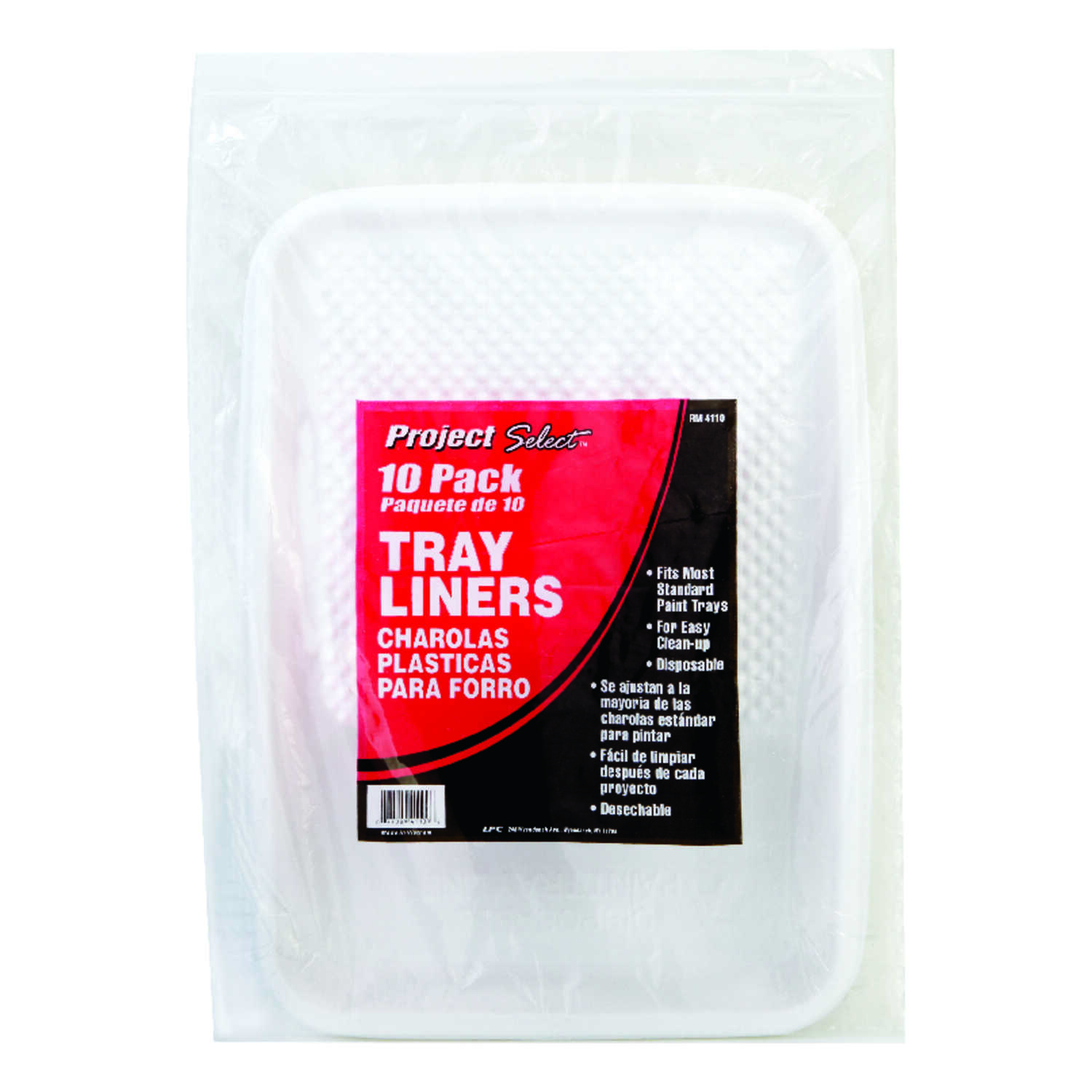 Linzer  Project Select  Plastic  Disposable Paint Tray Liner  1 qt.