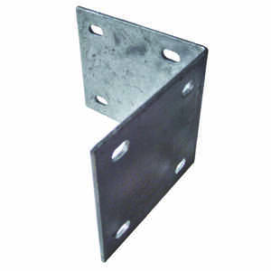 Multinautic  Silver  Galvanized Steel  Inside Corner Bracket