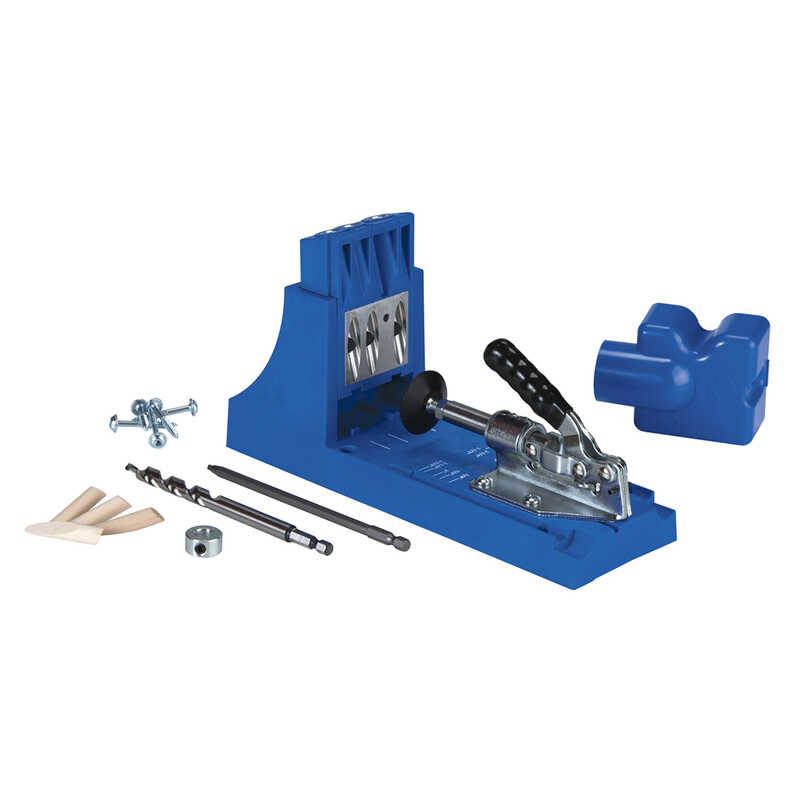 Kreg  Nylon  No.2  Pocket Hole Jig  1/2 in. to 1-1/2 in. Blue  1 pc.
