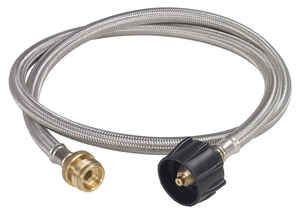 Bayou Classic  Liquid Propane-LP  LPG Adapter Hose  Stainless Steel