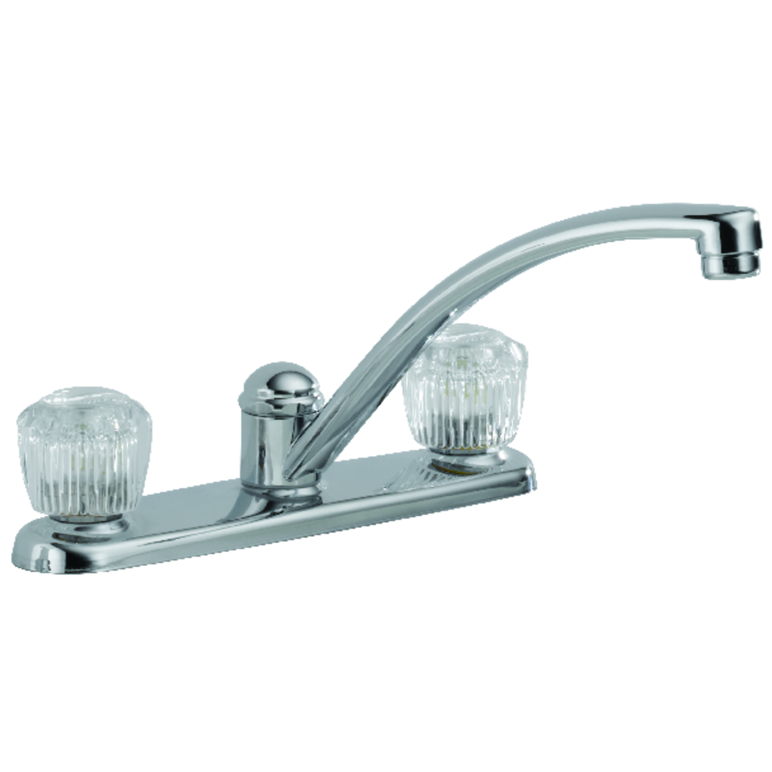 Delta Classic Two Handle Chrome Kitchen Faucet - Ace Hardware