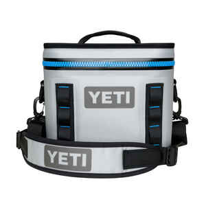 YETI  Hopper  Cooler  8 cans Gray  1 pk