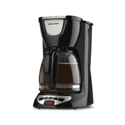 Black and Decker  12 cups Black  Coffee Maker