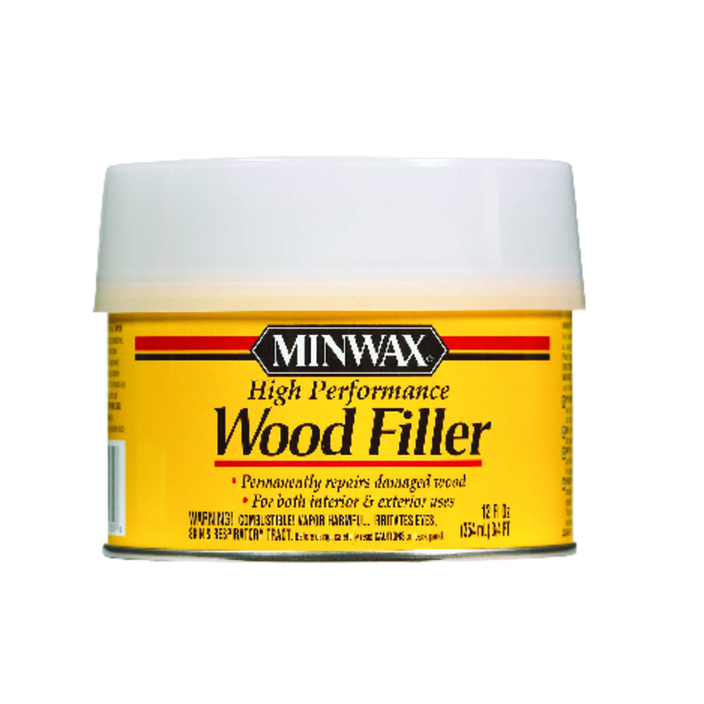 Minwax High Performance Sand Wood Filler 12 Oz Ace Hardware