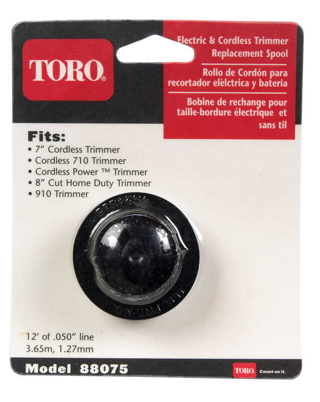 Toro  0.05 in. Dia. x 12 ft. L Replacement Line Trimmer Spool