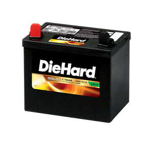 DieHard  Sealed 340 amps Lawn and Garden Battery