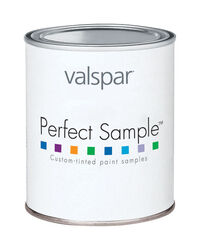 Valspar  Perfect Sample  Pure White  Paint Sample  1 pt. Acrylic Latex  Interior  Satin