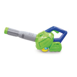 Maxx Bubbles Toy Bubble Leaf Blower Plastic Green/Blue/Gray