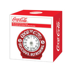 TableCraft  Coca-Cola  Analog  Plastic  Kitchen Timer