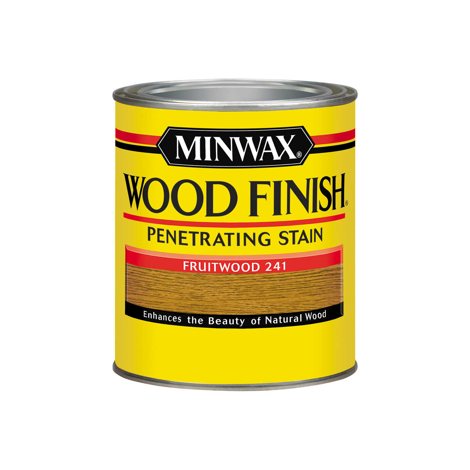 Minwax  Wood Finish  Semi-Transparent  Fruitwood  Oil-Based  Oil  Stain  1 qt.
