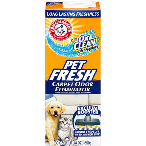 Arm & Hammer  Pet Fresh  Carpet Cleaner  30 oz. Powder