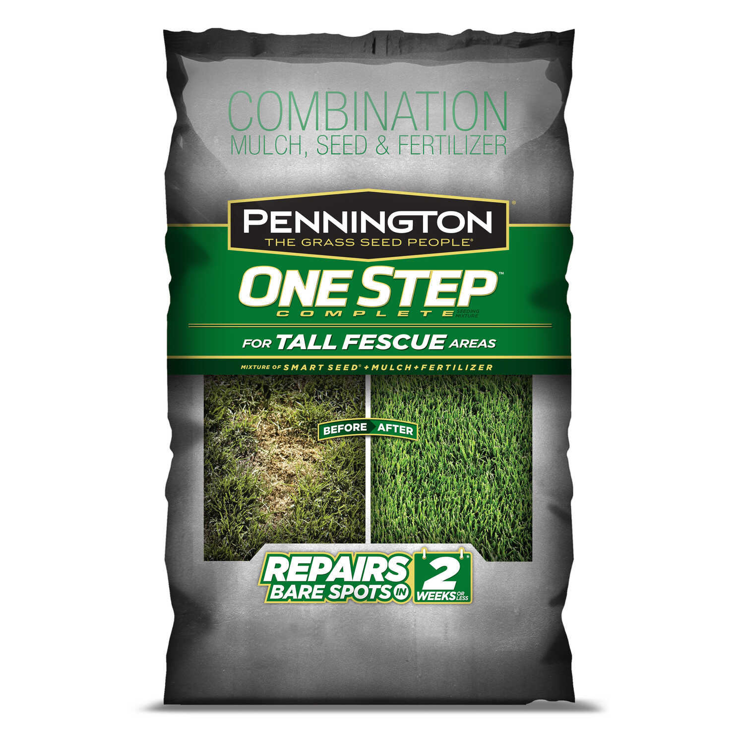 Pennington  One Step Complete  Tall Fescue  Seed, Mulch & Fertilizer  8.3 lb.