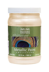 Modern Masters  Shimmer  Satin  Flash Copper  Metallic Paint  1 qt.