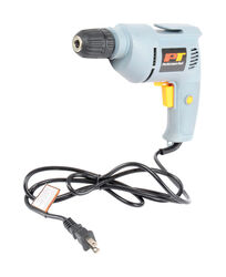 Performance Tool 3/8 in. Keyless Variable Speed Corded Drill 3.8 amps 3000 rpm