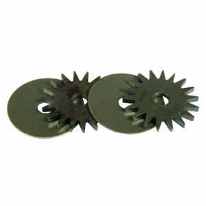 Forney  1-1/4 in. Dia. x 1/4 in. thick  Grinding Wheel  13700 rpm 9 pc.