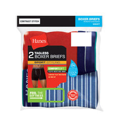 Hanes  Comfort Flex  Extra Large  Men's  Assorted  Boxer Briefs