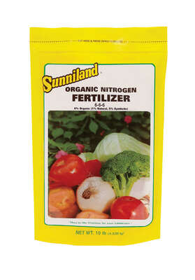 Sunniland  All Purpose  6-6-6  Fertilizer  10 lb.