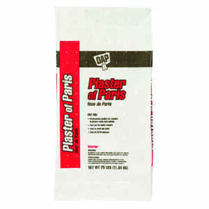 DAP  Plaster of Paris  White  Wall Patch  25 lb.
