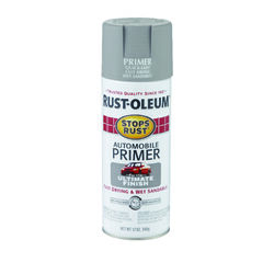Rust-Oleum  Stops Rust  Gray  Flat  Oil-Based  Alkyd  Primer  12 oz.