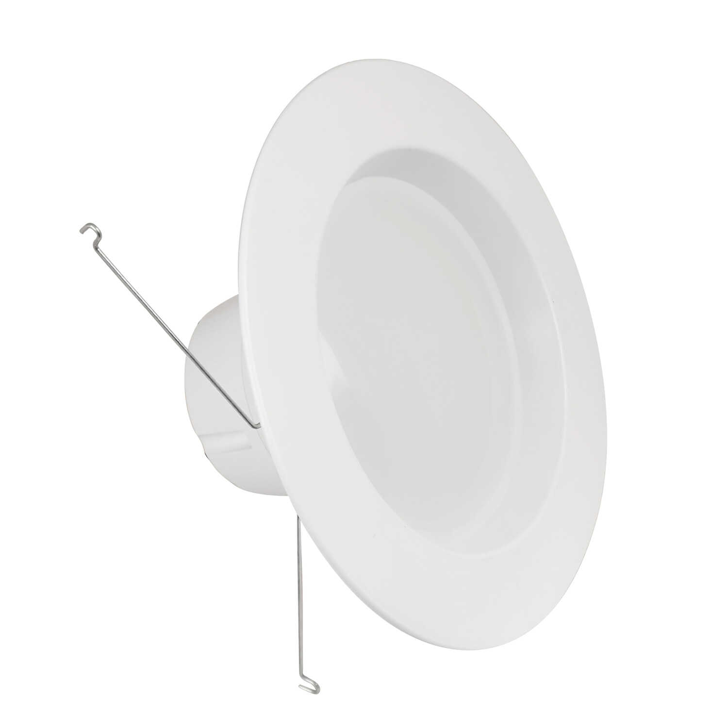 FEIT Electric  White  5 in. W Steel  LED  Recessed Air Tite Trim