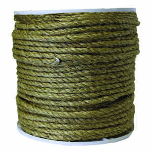 SecureLine  1/2 in. Dia. x 330 ft. L Brown  Twisted  Sisal  Rope