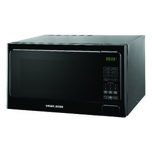 Black & Decker Microwave 1.3 Cu. Ft. 1000 W Black