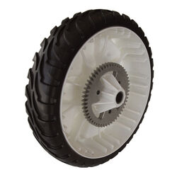 Toro  Gear Assembly RWD  2 in. W x 8 in. Dia. Plastic  Lawn Mower Replacement Wheel
