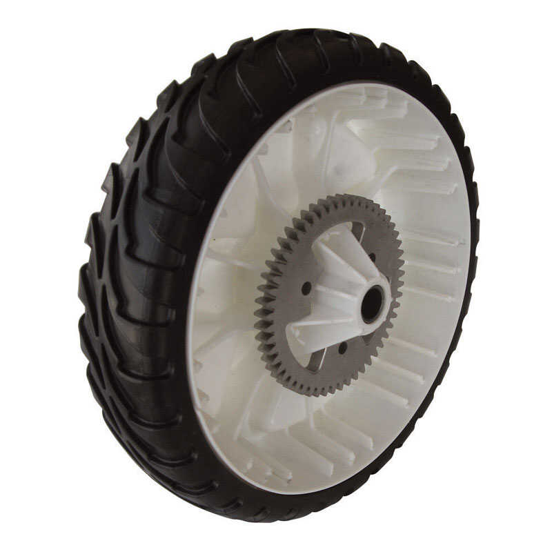 Toro  Gear Assembly RWD  8 in. W x 8 in. Dia. Plastic  Lawn Mower Replacement Wheel