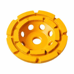 DeWalt  Extended Perfomance  7 in. Dia. x 1.5 in. thick  x 5/8 in.   Diamond  Cup Grinding Wheel  86