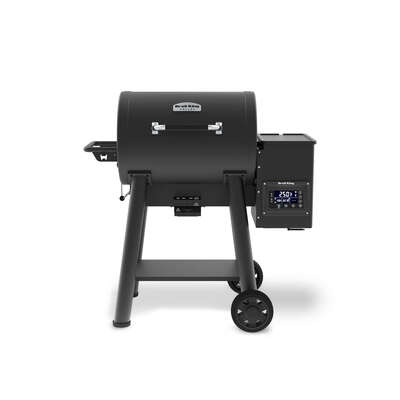 Broil King  Baron Pellet 400  Wood Pellet  Grill and Smoker  Black