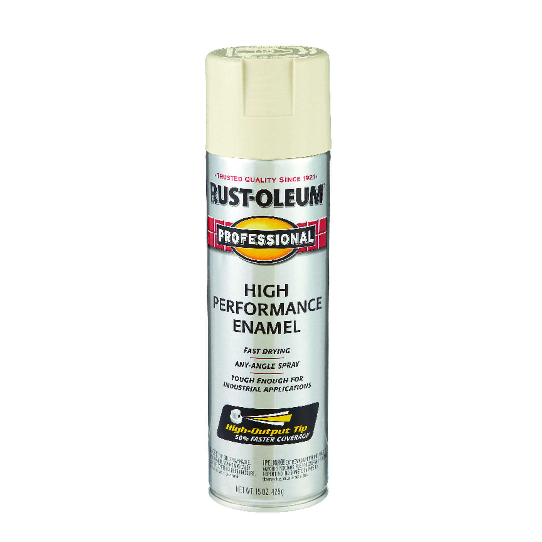 Rust Oleum Professional Almond Spray Paint 15 Oz Ace Hardware