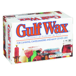 Gulfwax  Wide Mouth  Paraffin Wax  1 lb. 1 pk
