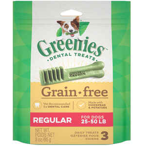 Greenies  Chickpea & Potato  Dog  Dental Stick  3 count
