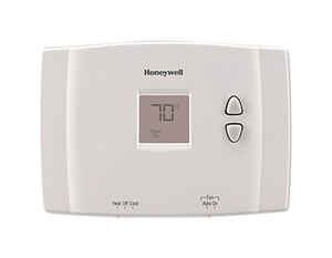 Honeywell  Heating and Cooling  Push Buttons  Thermostat